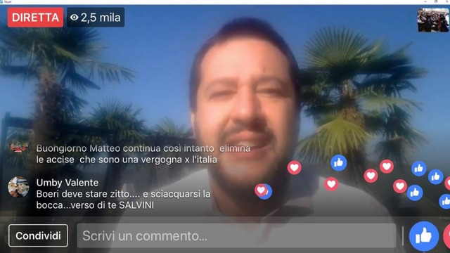 How Italy's far-right champion grew an online army