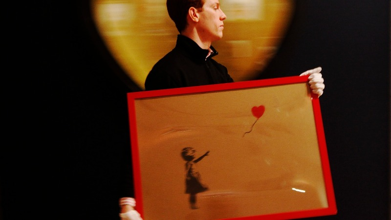 Banksy shredding stunt might not have gone to plan