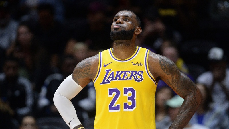 LeBron faces new challenges in purple and gold