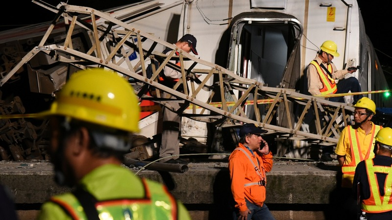 Taiwan train disaster leaves families reeling