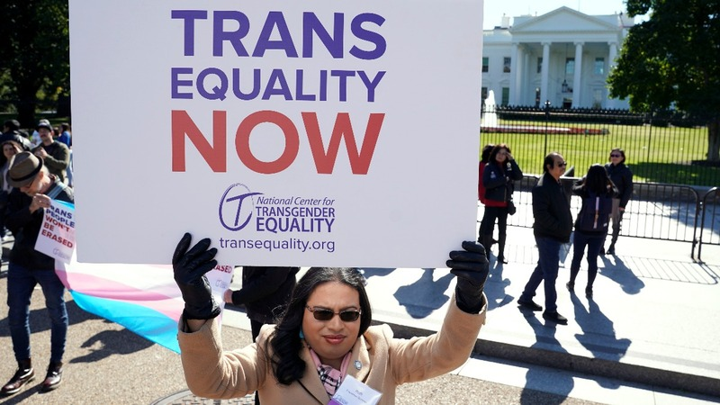 Transgender activists fight Trump plan to roll back rights