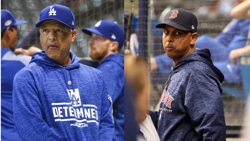 Boston, L.A. face off in history-making World Series