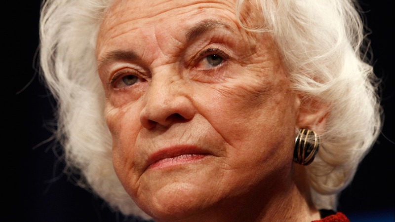 Trail-blazing Justice O'Connor says she has dementia