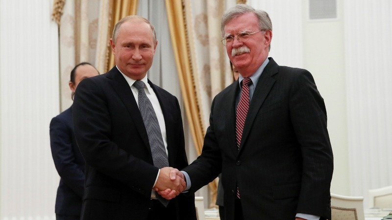 U.S. to quit arms control treaty with Russia: Bolton