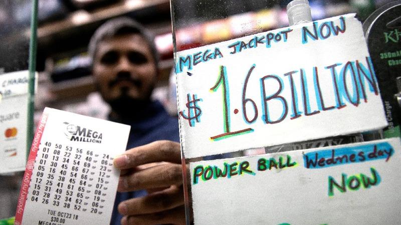 Winning ticket sold in $1.6 bln U.S. lottery