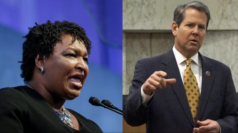 Voter suppression key issue in Georgia governor's debate