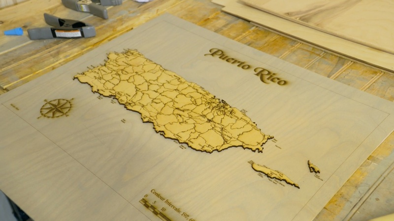 Generation Maker Mapmakers Carve Out A Nostalgic Business
