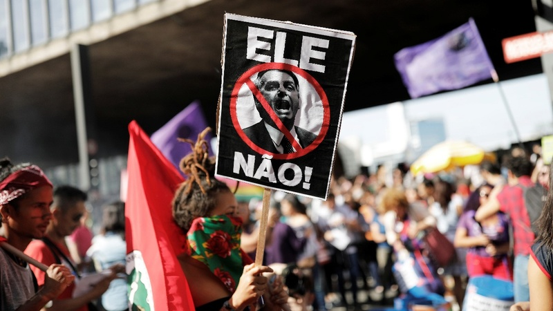 Brazilians worry about Bolsonaro's ties to the military
