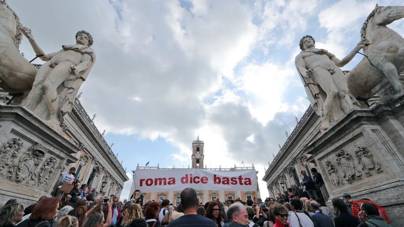 Rome's decline irks city dwellers