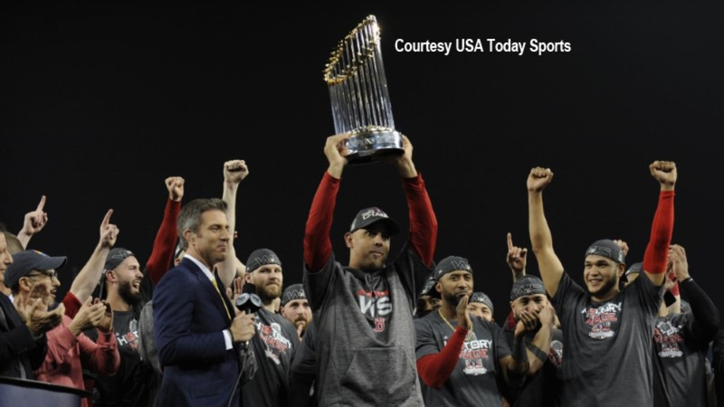 Red Sox crush Dodgers to win World Series