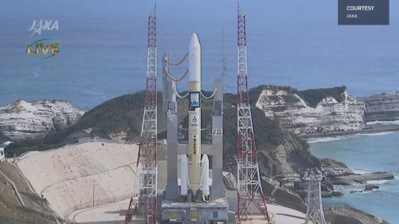 Japanese rocket carries first Emirati satellite