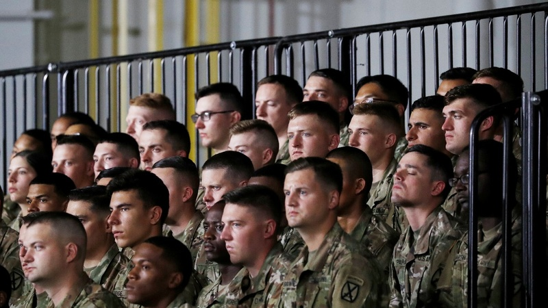 Over 5,200 U.S. troops heading to Mexico border