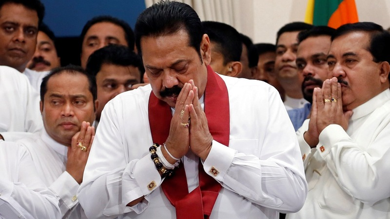 Chaos in Sri Lanka spills over to the world stage