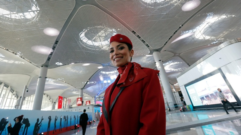 Amid controversy, Turkey opens 'world's largest airport.'