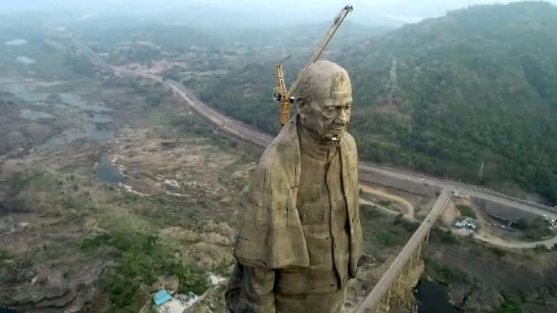 World's tallest statue unveiled in India