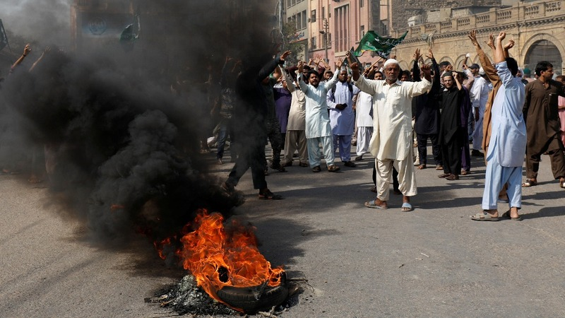 Release of Pakistani 'blasphemer' sparks protests