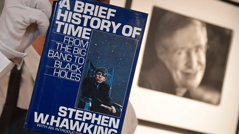 Stephen Hawking's belongings go under the hammer