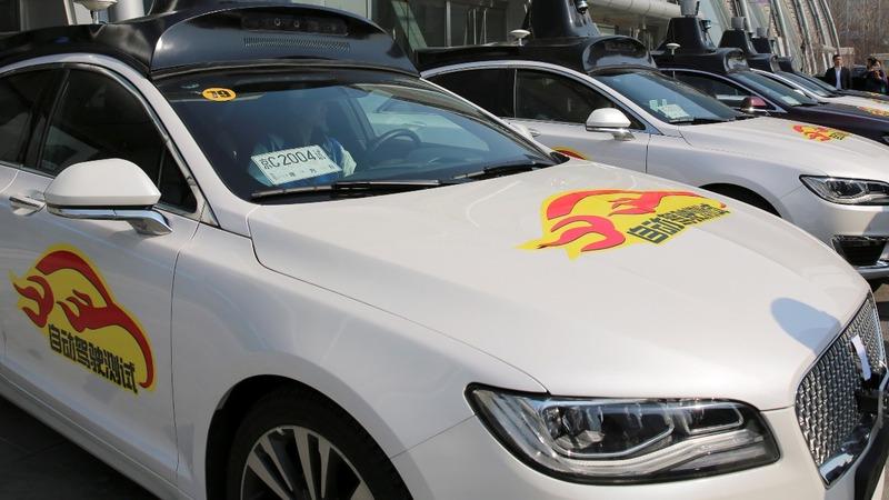 Volvo, Baidu to battle Google's driverless cars