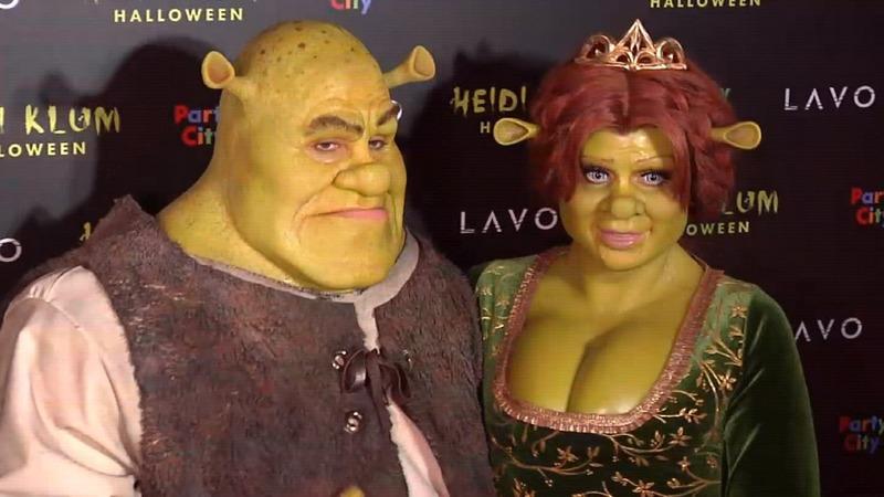 INSIGHT: Heidi Klum channels ogre chic for Halloween