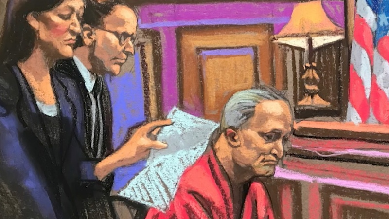 Synagogue massacre suspect pleads not guilty