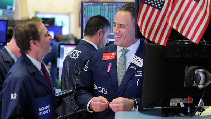 Stocks soar on jobs reports, hopes of U.S.-China trade deal