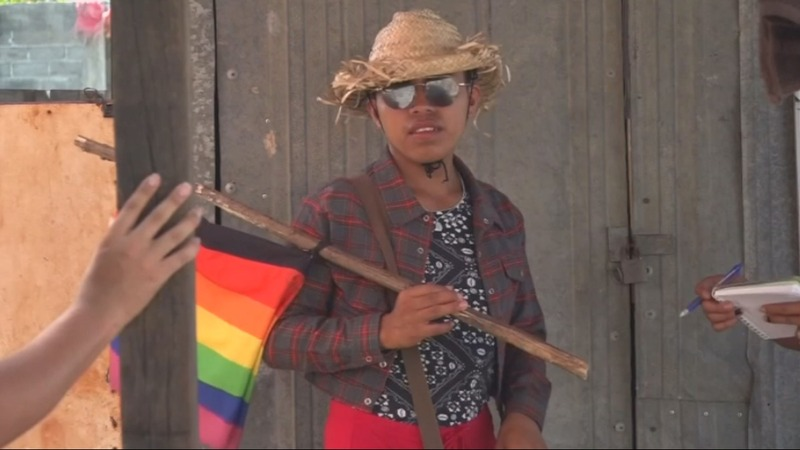 LGBT migrants face bullying at home and in caravan