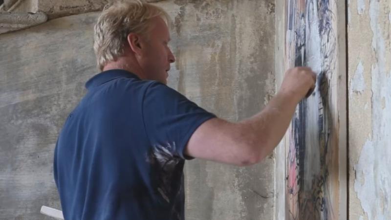 Sleeping beauty: Art rescues Lebanese buildings
