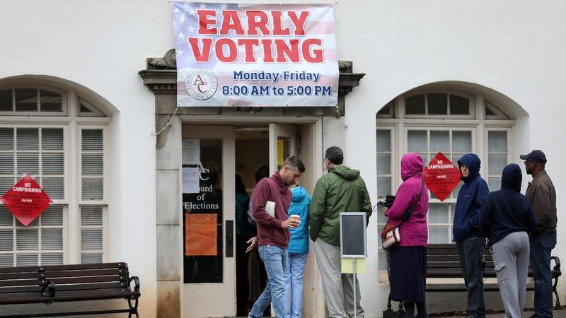 Last-minute voting challenges ruffle Georgia race