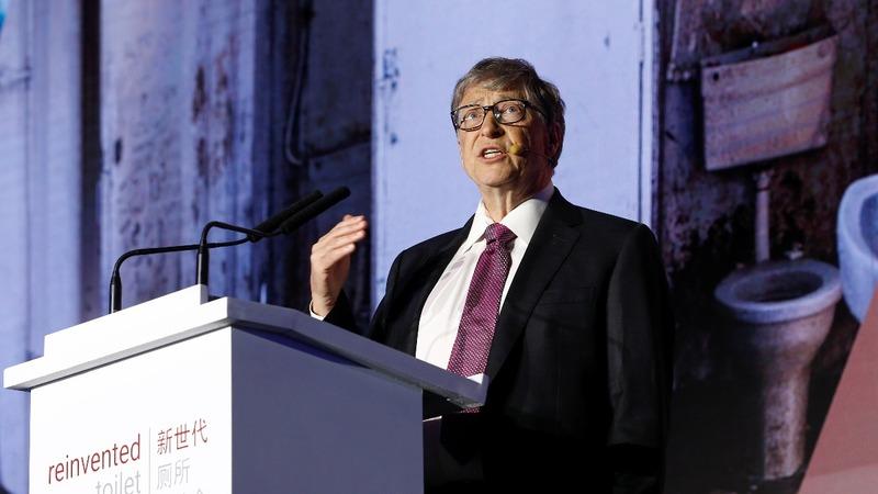 Bill Gates lauds futuristic toilets in China