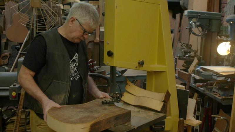 Generation Maker: 'Bones of old NY' become custom guitars