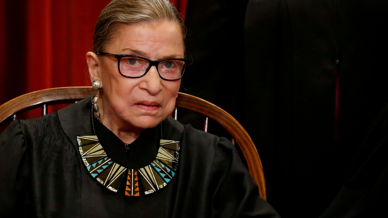 Admirers say 'take my ribs' after Ginsburg's fall