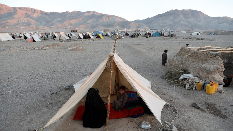 Afghans escaping drought face uncertain future