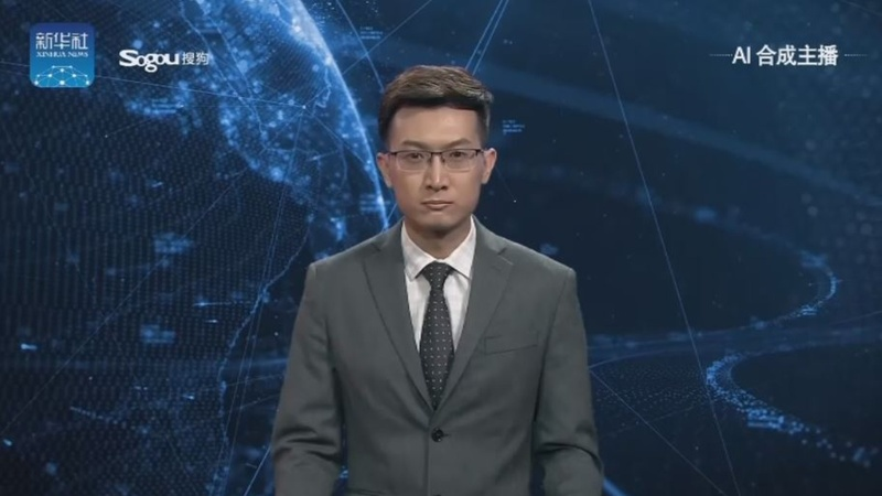 China reveals world's first virtual news presenters