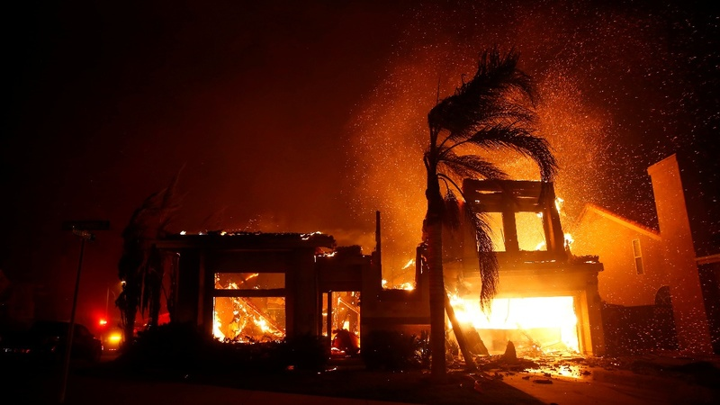 Five killed in Northern California wildfire