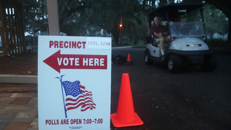 Florida orders recount in three key races