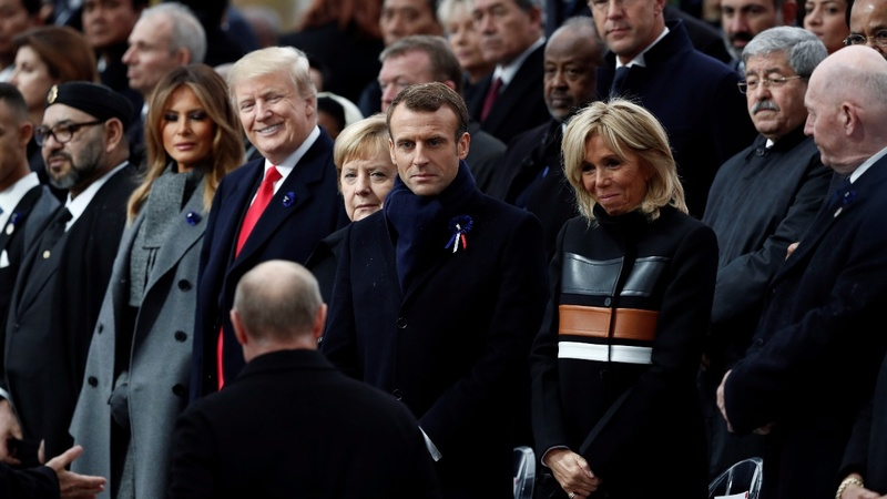 INSIGHT: World leaders mark Armistice centenary