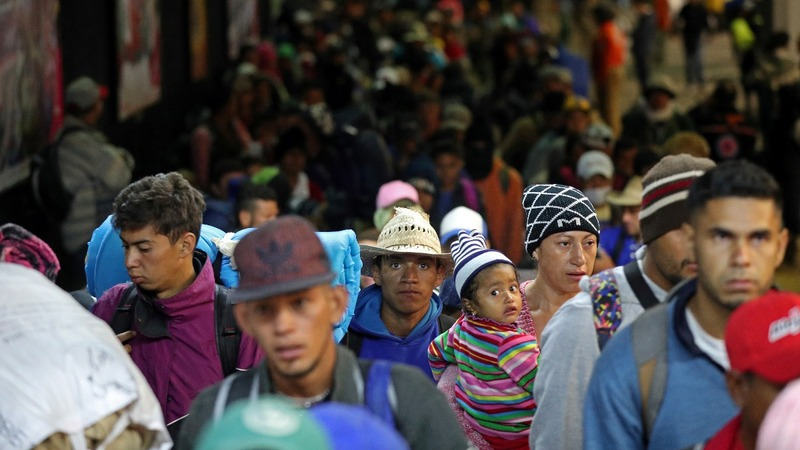 Undeterred by Trump, migrants' journey continues