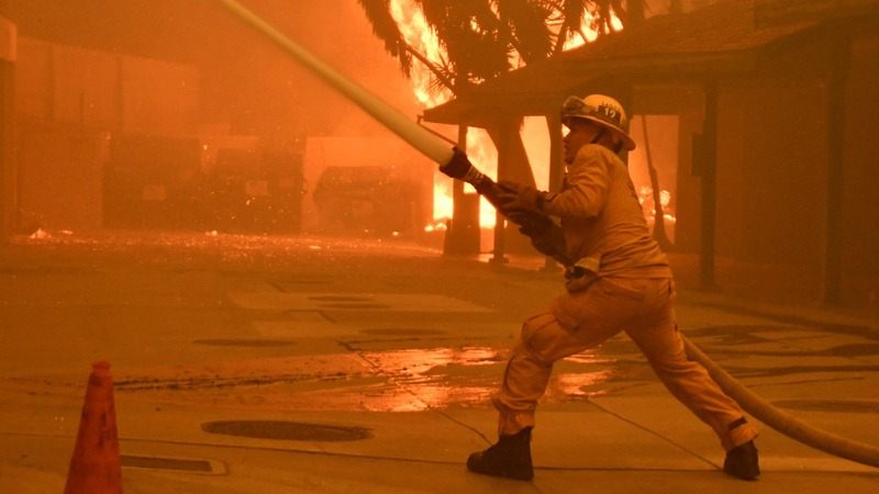 At least 31 dead as California wildfires rage