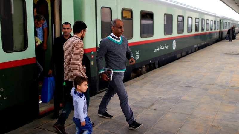 Iraqi rail lines sputter back to life after I.S.