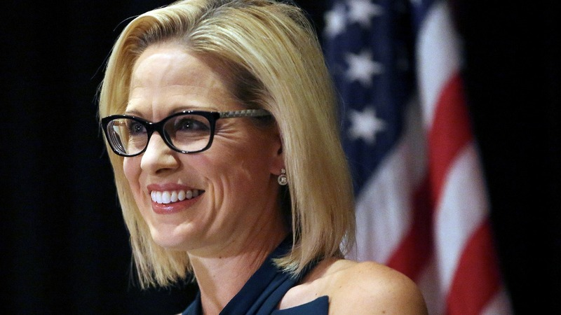 Democrat Sinema wins Arizona Senate seat