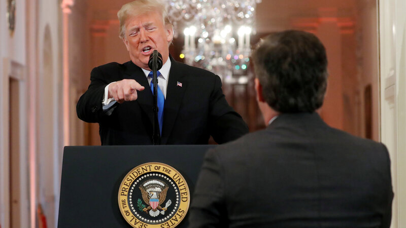 CNN sues White House over revoked press pass