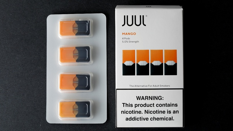 Juul pulls sweet e-cig flavors from stores