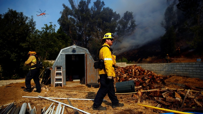 California's fires spur scorched-earth politics