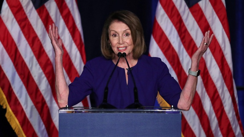Pelosi scrambles for votes in House speaker bid