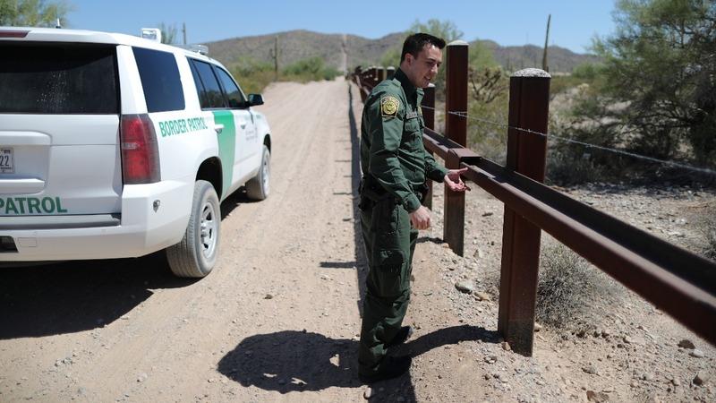 U.S. Border Patrol's other job: rescuing migrants
