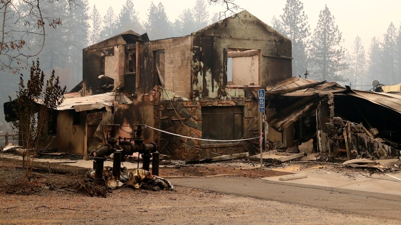 Paradise lost: What's left of a California town