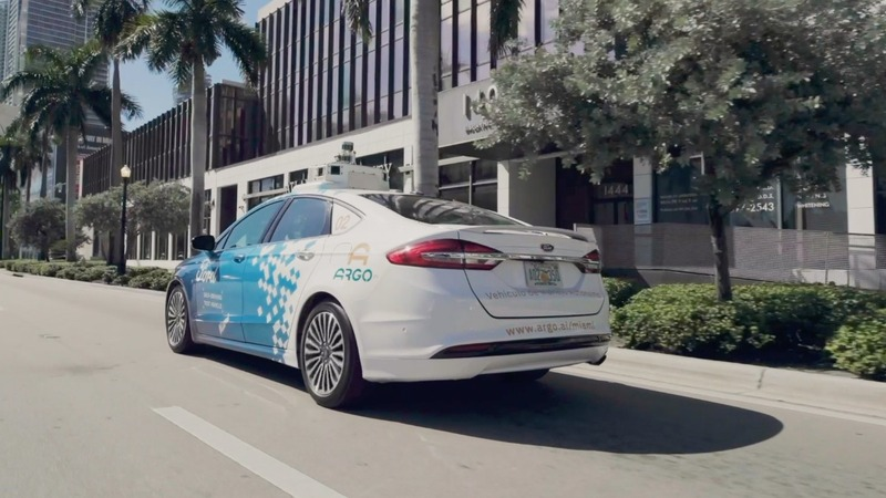 Ford unveils its self-driving operation in Miami