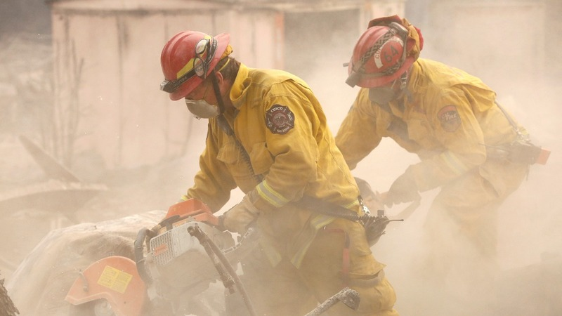 Over 600 missing in wildfire-ravaged California