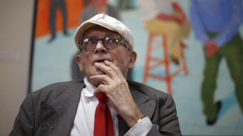 Hockney painting smashes auction records