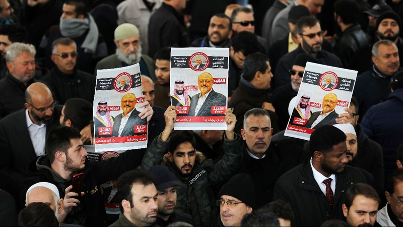 Funeral held for Jamal Khashoggi in absentia